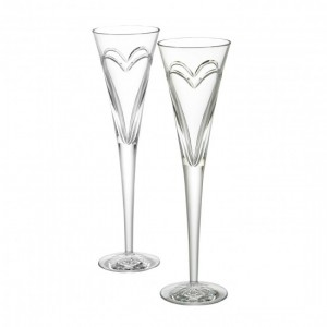 Engraved Wedding Champagne Flutes